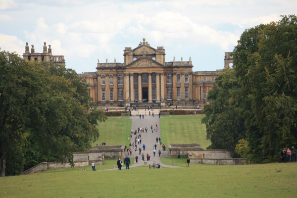 Blenheim-Palace-Facade