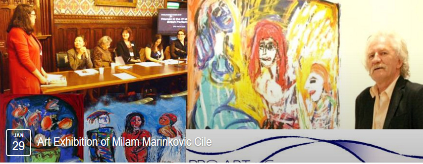 Art Exhibition, Milam Marinkovic Cile